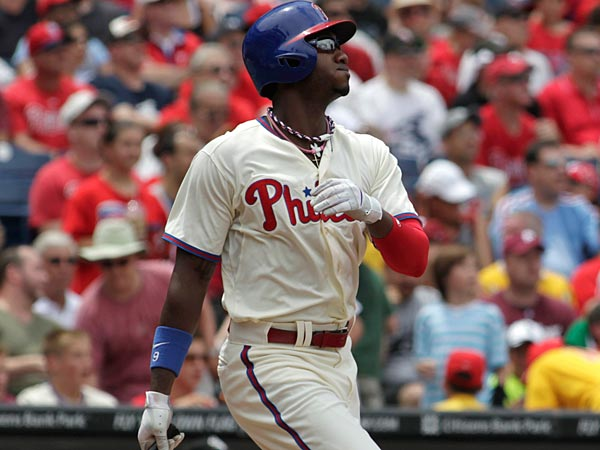 Philadelphia Phillies outfielder Domonic Brown. (H. Rumph Jr/AP file photo)