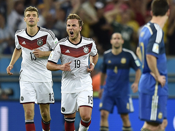 Germany defeated Argentina, 1-0, to win the 2014 FIFA World Cup. (AP Photo)