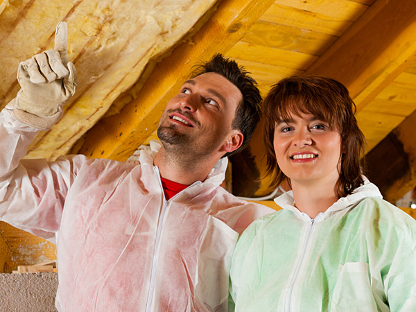 While inspection of insulation in areas such as an attic space is a relatively simple matter, it is more difficult to check other areas, for example, exterior walls. (iStock)