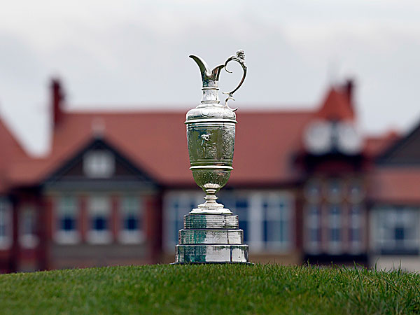 The Claret Jug. (Jon Super/AP)