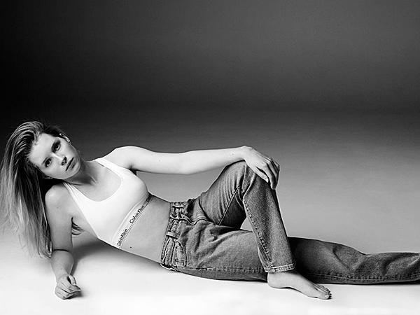 Lottie Moss poses for Calvin Klein Jeans ´The Re-Issue Project.´ (Michael Avedon)