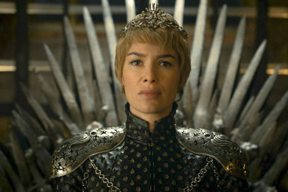 "In this image released by HBO, Lena Headey appears in a scene from ""Game of Thrones.""  ""Game of Thrones"" and ""Veep"" are among the top contenders for the 68th prime-time Emmy Award nominations. The shows claimed the top drama and comedy series prizes at last year´s Emmy ceremony."