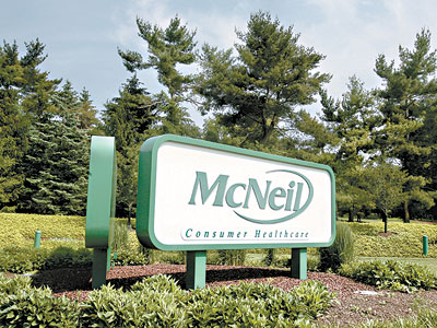 McNeil Consumer Healthcare of Fort Washington is laying off 300 of the recall-idled plant´s 400 workers. (Charles Fox / Staff Photographer)