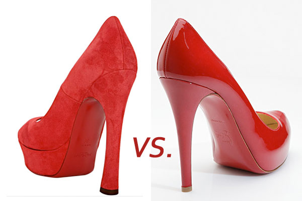 Louboutin, YSL take the red sole to court