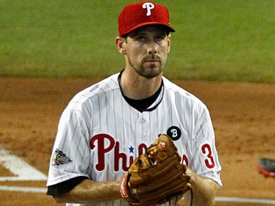Cliff Lee will start for the Phillies against the Padres this afternoon. (Ross D. Franklin/AP file photo)
