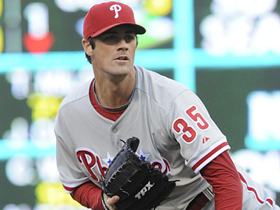 If $24 million is Cole Hamels´ figure, the Phillies would commit $68 million to three pitchers in 2013. (Jim Mone/AP)