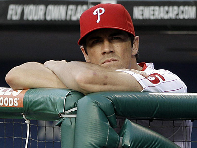 Phillies starting pitcher Cole Hamels will be a free agent at the end of the 2012 season. (Matt Slocum/AP)