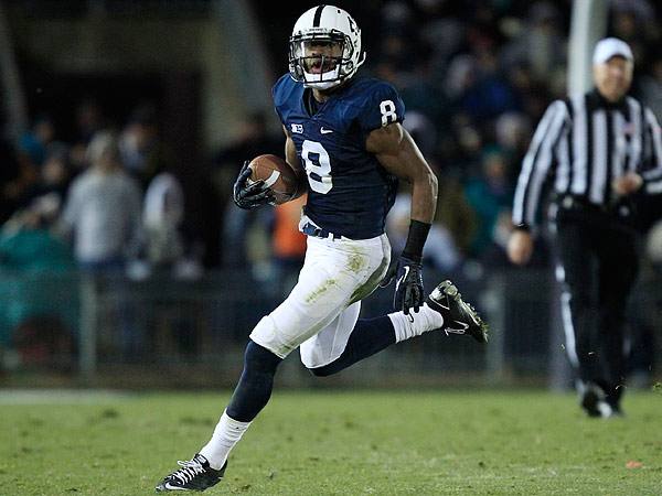 Allen Robinson broke the Nittany Lions' school record for receptions with 77 last season. (Gene J. Puskar/AP file photo)