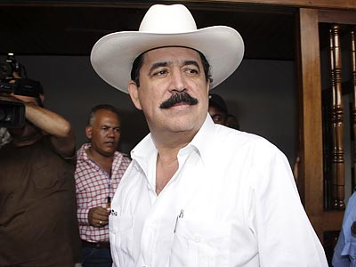 Mauel Zelaya was ousted as president of Honduras in a coup on July 28. (Miguel Alvarez/AP)