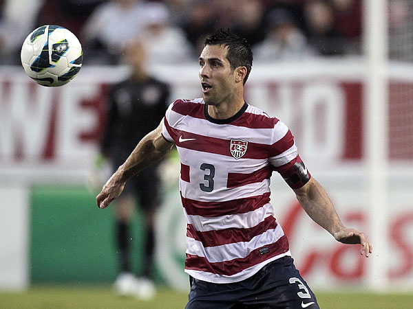 Former U.S. national team captain Carlos Bocanegra is back in Major League Soccer. (Chris O´Meara/AP file photo)
