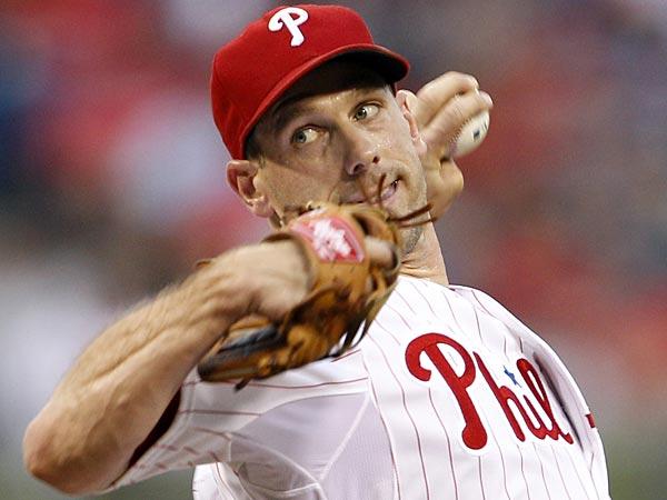 Philadelphia Phillies starting pitcher Cliff Lee. (Yong Kim/Staff Photographer)