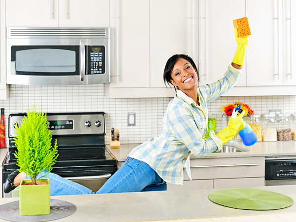 Cleaning means scrubbing away gloomy yesterdays and grubby tomorrows by washing windows and letting in the light. (iStock)