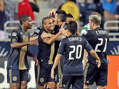 The Union beat Toronto FC, 2-1, today at PPL Park. (Steven M. Falk / Staff file photo)