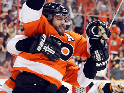 The Flyers traded Simon Gagne to the Tampa Bay Lightning. (Steven M. Falk / Staff Photographer)