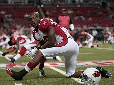 A rumored deal for Kevin Kolb would bring Cardinals cornerback Dominique Rodgers-Cromartie. (Jeff Roberson/AP)