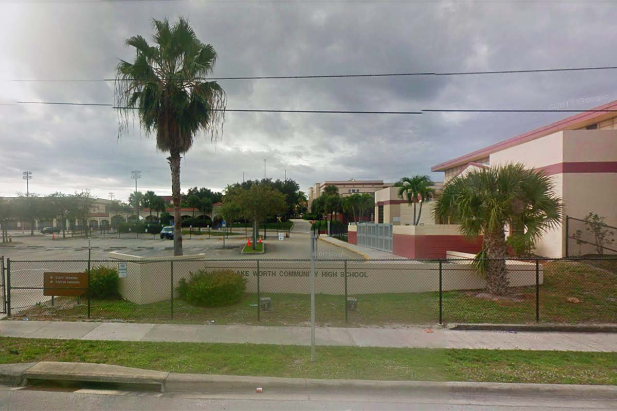 Lake Worth Community High School, Lake Worth, Florida.