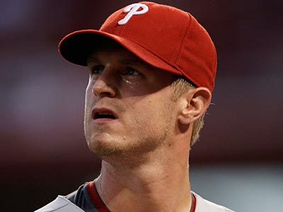 Kyle Kendrick has been optioned to Triple-A Lehigh Valley. (AP Photo / Al Behrman)