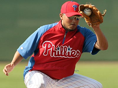 Freddy Galvis was named one of the top two minor league players for the Philles in 2011. (Yong Kim/Staff file photo)