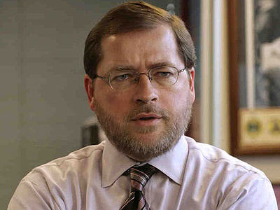 Conservative activist Grover Norquist. His no-taxes pledge was signed by 277 members of Congress. (Yuri Gripas / Associated Press)