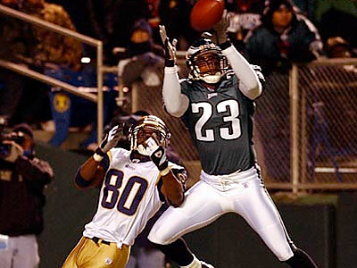 Troy Vincent will enter the Eagles Hall of Fame. (David Maialetti/Staff Photographer)