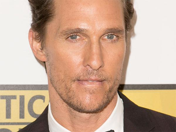 Matthew McConaughey at tge 4th Annual Critics' Choice Television Awards at The Beverly Hilton Hotel. (Brian To/WENN.com)