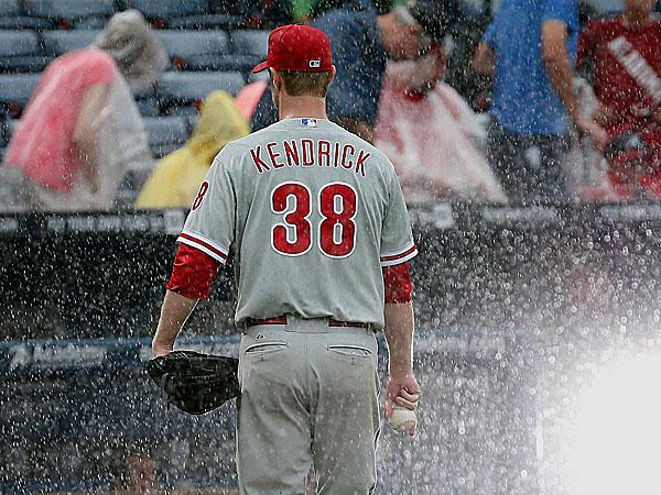 Phillies starting pitcher Kyle Kendrick. (John Bazemore/AP)