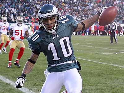 "Is Eagles WR DeSean Jackson the team´s only ""blue-chip"" player on offense? (Yong Kim / Staff Photographer)"