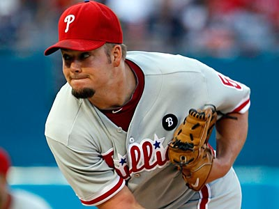 Joe Blanton will likely pitch out of the bullpen Saturday night against the Mets. (Alan Diaz/AP)