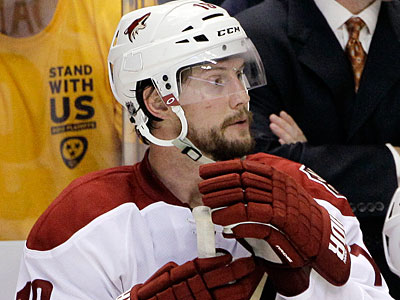 Will Shane Doan sign with the Flyers? (Mark Humphrey/AP Photo)