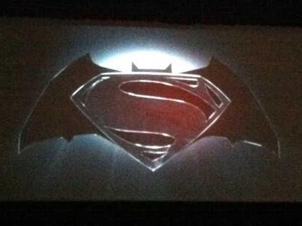 """Man of Steel"" director Zack Snyder took the stage at the San Diego Comic-Con in July and revealed the logo for a new Superman film which will include Batman - the first time the two superheroes will be united on the big screen."