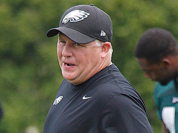 Eagles head coach Chip Kelly. (Akira Suwa/Staff Photographer)