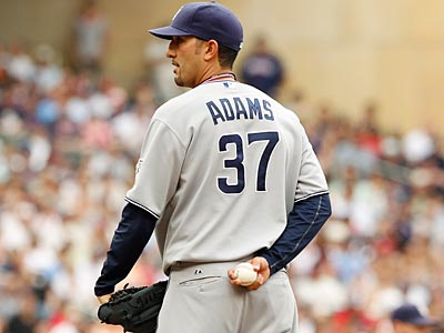 Mike Adams has a 1.20 ERA on the season, with 45 strikeouts in 45 innings pitched.  (Genevieve Ross/AP)