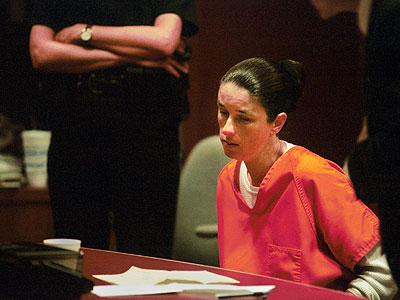 Marie Hess at her sentencing in 2001. She has been serving a 30-year sentence with parole possible after 25. (Sarah J. Glover / Staff Photographer)