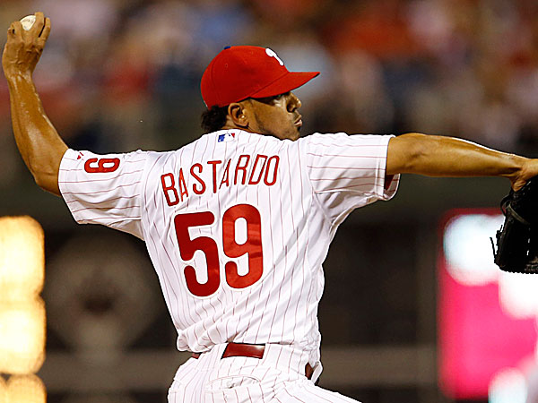 Phillies relief pitcher Antonio Bastardo. (Yong Kim/Staff Photographer)