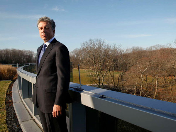 Newtown Square-based Bill McDermott is CEO of SAP A.G., a German-based multinational business-software maker.
