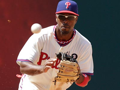Jimmy Rollins is one of the top free agent shortstops of the 2012 offseason. (David Swanson/Staff File Photo)