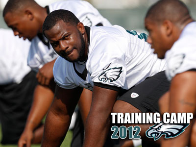Fletcher Cox said he knows he needs to compete and that nothing will be handed to him. (Yong Kim/Staff Photographer)