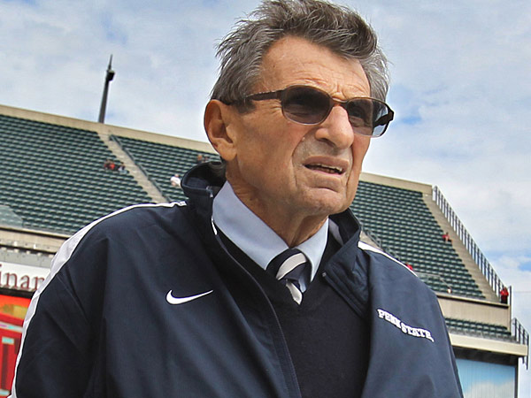 Penn State Head Football Coach Joe Paterno. (Charles Fox/Staff Photographer )