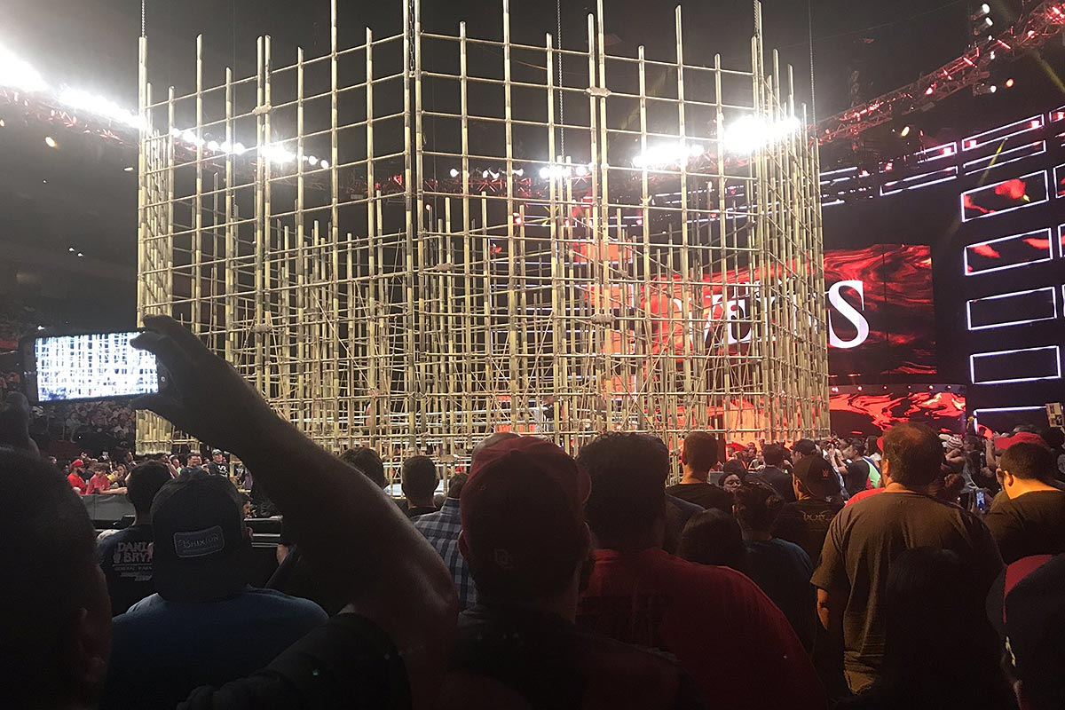 The Punjabi Prison in the Wells Fargo Center.