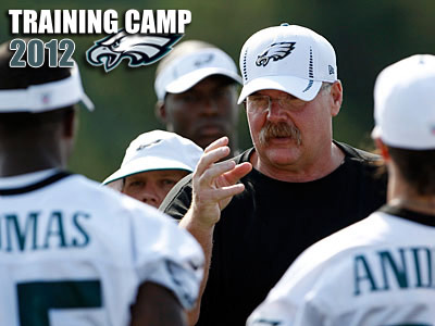 The Eagles are set for the second day of training camp at Lehigh University. (Yong Kim/Staff Photographer)