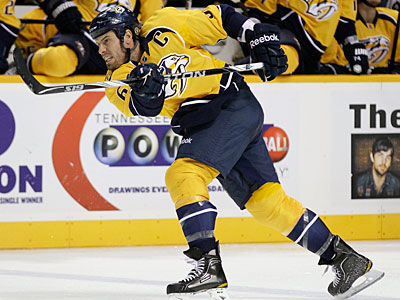 The Predators matched the Flyers´ offer sheet for defenseman Shea Weber. (Associated Press)