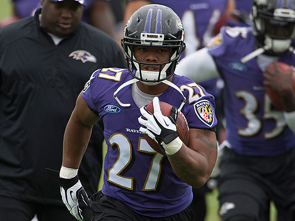 Baltimore Ravens running back Ray Rice. (Tommy Gilligan/USA Today Sports)