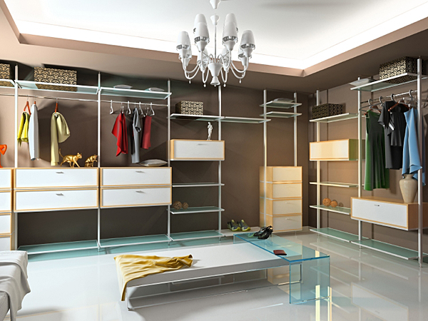 To get the closet of your dreams, you must get organized. (iStock)