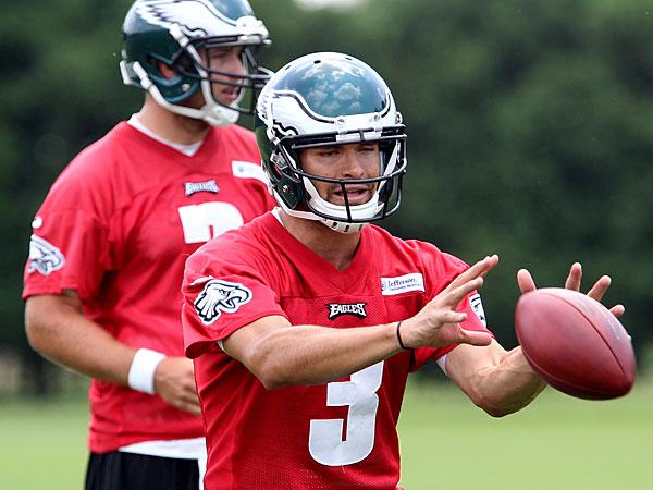 Eagles quarterback Mark Sanchez. (Michael Bryant/Staff Photographer)