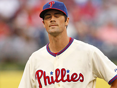 Cole Hamels has been scratched from tonight´s Phillies game due to illness. (Ron Cortes/Staff file photo)