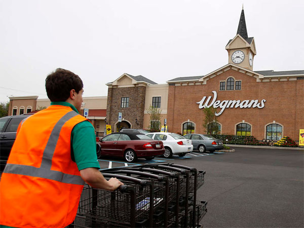 Rochester, N.Y.-based Wegmans has several stores in the Philadelphia area, including this one in King of Prussia. (David Maialetti / Staff Photographer)
