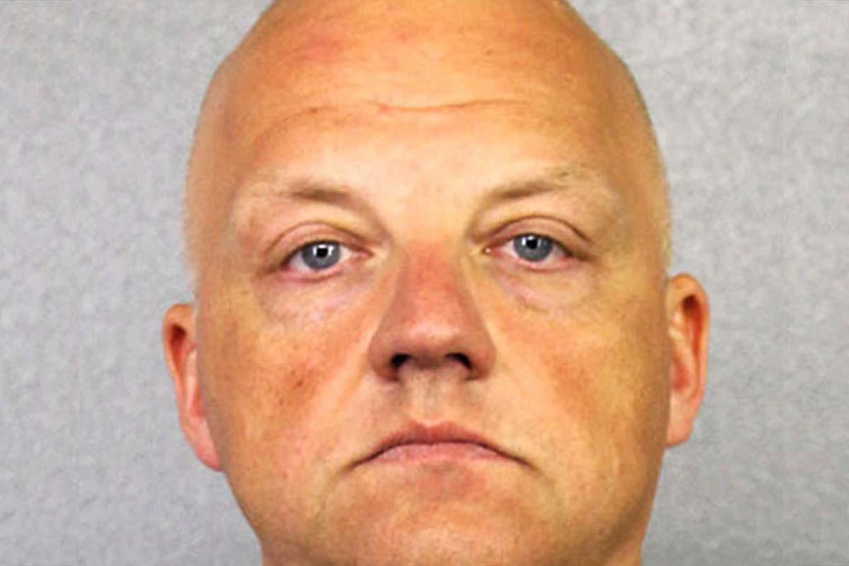 FILE - This January 2017 file photo provided by the Broward County Sheriff´s Office shows German Volkswagen executive Oliver Schmidt. A court spokesman in Detroit said Tuesday, July 25, 2017, that Schmidt plans to plead guilty in the company´s U.S. emissions scandal. Schmidt will appear in federal court on Aug. 4. He´s been in custody since January when he was arrested while on vacation in Miami.