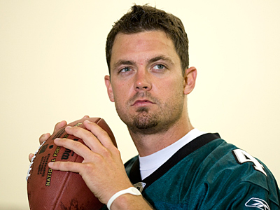 Kevin Kolb enters this training camp as the number one quarterback. (David Maialetti / Staff Photographer).