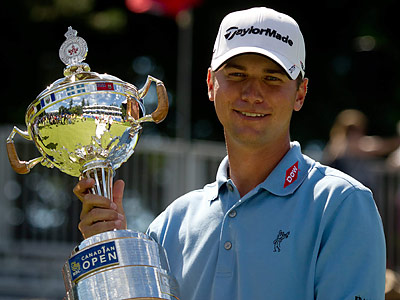 Sean O'Hair has guaranteed himself a spot in the FedExCup playoffs this year. (Darryl Dyck/Canadian Press/AP)