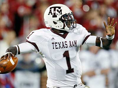 Texas A&M quarterback Jerrod Johnson was among several undrafted free agents signed by the Eagles. (Sue Ogrocki/AP)